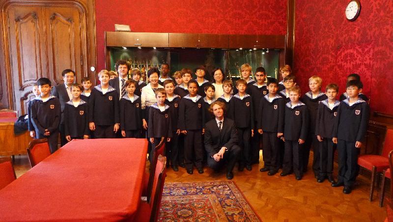 Vienna Boys Choir In Hong Kong